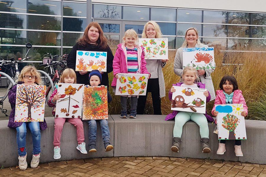 Kinderhaus Rasselbande: Herbstbilder fürs Wesavi