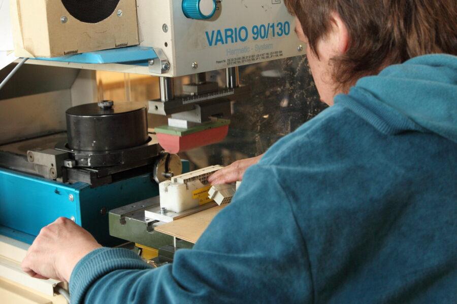 Tampon- und Etikettendruck